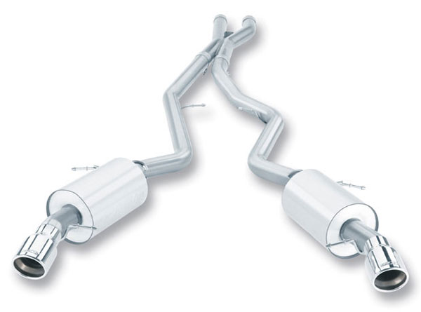 Borla Exhaust 140276 | Borla BMW 335i/xi Coupe/Sedan 335i/xi Coupe/Sedan Cat-Back System Aggressive; 2007-2010
