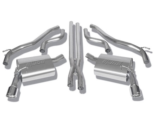 Borla 140282:  Camaro 2010-13 V6 Exhaust System with X pipe