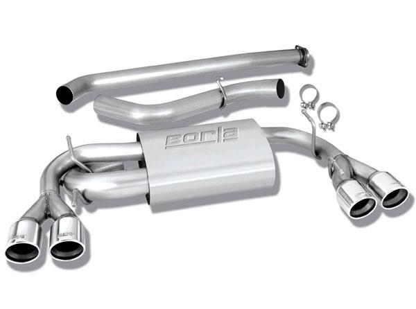 Borla Exhaust 140312 | Borla SUBARU Impreza WRX STI 2.5L / WRX 4DR HATCHBACK Stainless Steel Cat-Back System; 2008-2012