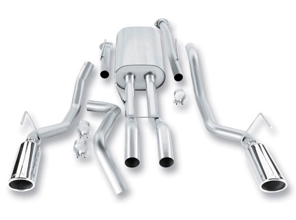 Borla 140333: BORLA Tundra 5.7L 2009-2013 Stainless Steel Cat-Back System