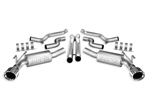 Borla Exhaust 140356 | Borla ATAK Camaro V8 Aggressive ATAK with Xpipe; 2010-2013