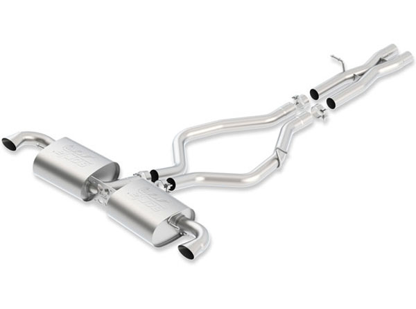 Borla 140473:  Audi TT-RS Quattro 2012-2013 Cat-Back Exhaust ATAK