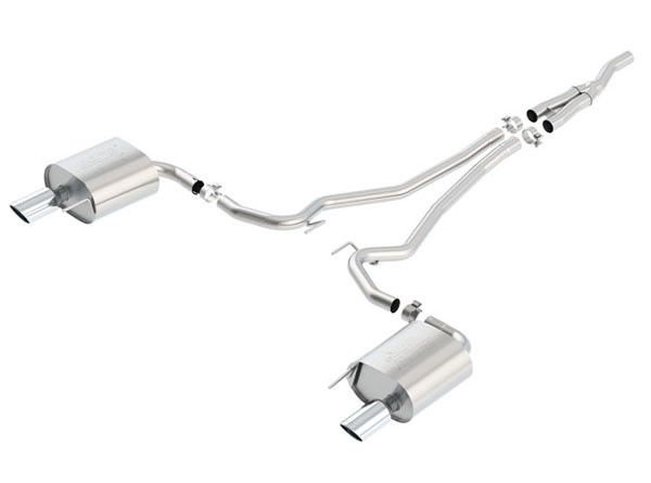 Borla (140585)  Mustang 2015-2017 Eco-Boost Cat-Back Exhaust ATAK