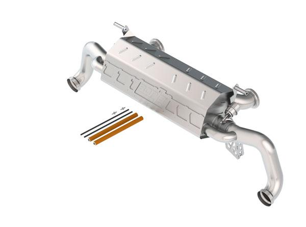 Borla Exhaust 140596 | Borla Audi R8 S-Type Cat-Back Exhaust System, V10 5.2; 2010-2015