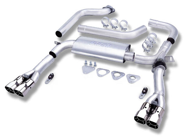 Borla 14555:  CAMARO LT1 1995-97 Dual Cat - Adjustable V8
