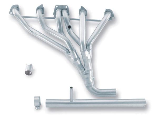 Borla Exhaust 17053 | Borla HEADER JEEP CJ7 NO AIR TUBES; 1981-1986