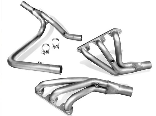 Borla 17251:  Jeep WRANGLER 3.8L 6CYL 4WD AT/MT 2+4DR Long Tube Header (Offroad only) 2007-08 Header