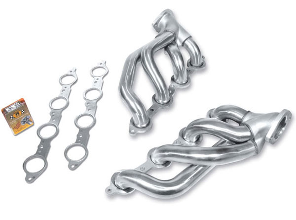 Borla (17258)  Camaro 2010-12 V8 SS Shorty Headers - Stainless Steel