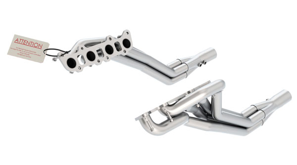 Borla 17263 |  Ford MUSTANG GT 11-14 5.0L AT/MT Long Tube Headers 1.75'' Primary, 2.75'' Collector, Off-Road