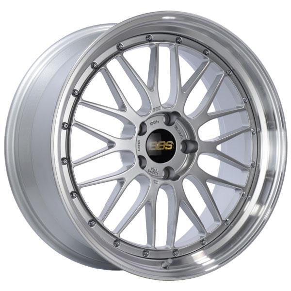 BBS LM283DSPK | LM 20x9 5x120 ET20 Diamond Silver Center Diamond Cut Lip Wheel -82mm PFS/Clip Required