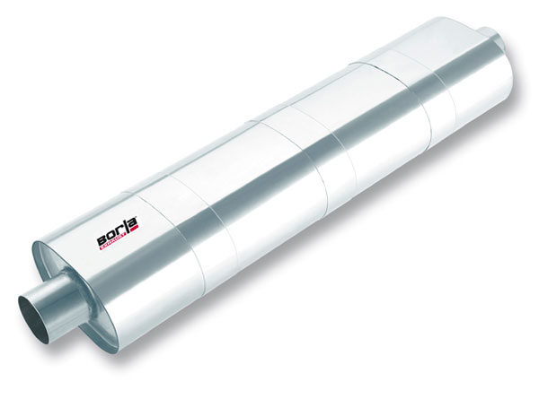Borla 400115 |  Non-Spec Vehicle ALL XR-1 Stainless Multicore Racing Mufflers