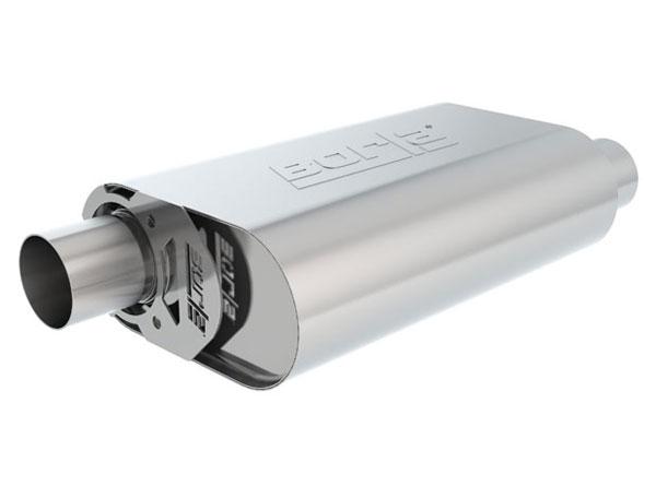 "Borla Exhaust 400829 | Borla CrateMuffler STOCK SBF 289/302 OFFSET/ OFFSET 2.50"" ATAK; 1950-2015"