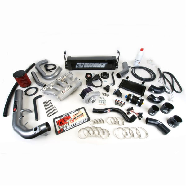 KraftWerks 150-05-1351b | 12-13 Civic Si Supercharger Kit w/ FlashPro - Black; 2012-2013