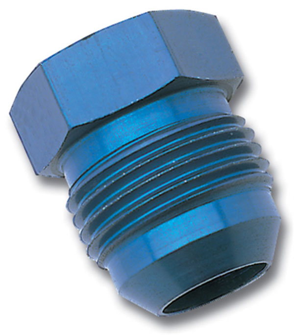 Russell 660170 | Performance -3 AN Flare Plug (Blue)