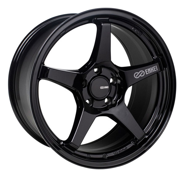 Enkei 521-790-8045bk | TS-5 17x9 5x100 45mm Offset 72.6mm Bore Gloss Black