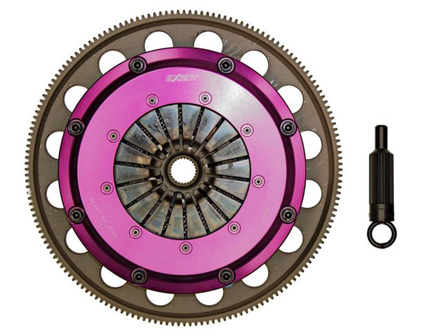 Exedy Racing GM013SBMC1 | Exedy Hyper Triple Carbon-R Clutch Kit CAMARO V8 6.2; Rigid Disc; Push Type; 2010-2015