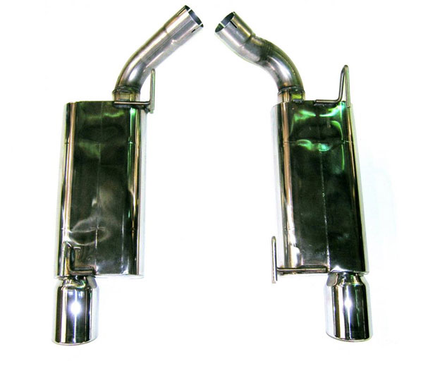 Bassani 46075 |  Exhaust System for Mustang GT 4.6L Stainless Steel V8; 2005-2009