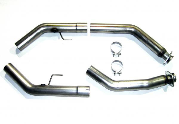 Bassani 5407R2M |  Power X Crossover Pipe for Mustang Shelby GT 500 5.4L V8; 2007-2010