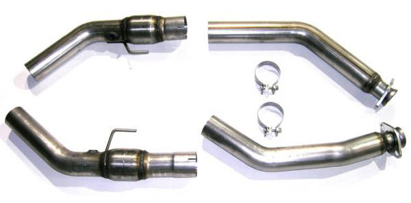 Bassani 5407R3M |  Power X Crossover Pipe for Mustang Shelby GT 500 5.4L V8; 2007-2010