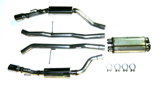 Bassani 605GTO5:  Exhaust System for GTO 05-06 V8 6.0L Stainless Steel