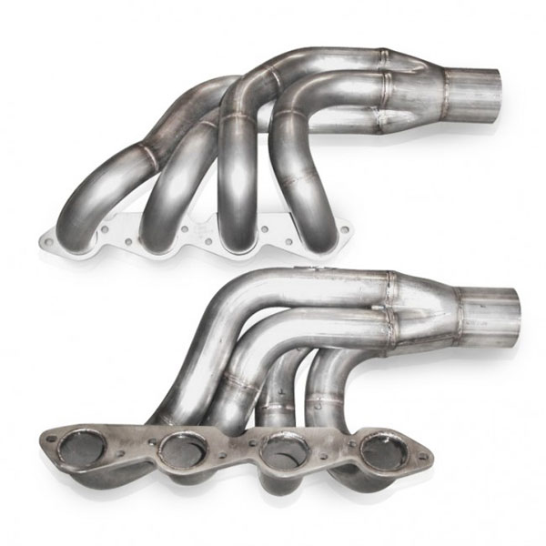 Stainless Works BBCT:  Chevy Big Block Turbo Headers: Up and Forward 2.25 inch Primaries 3.5 inch Collectors