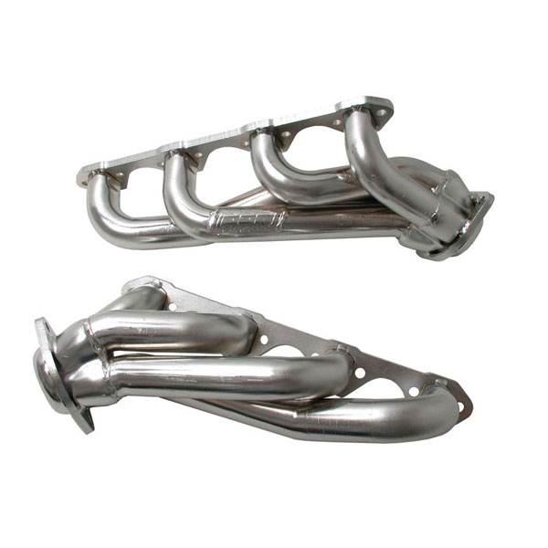 BBK 1525 |  Unequal Length 1994-95 5.0 Mustang 1-5/8 Shorty Headers (Chrome) V8