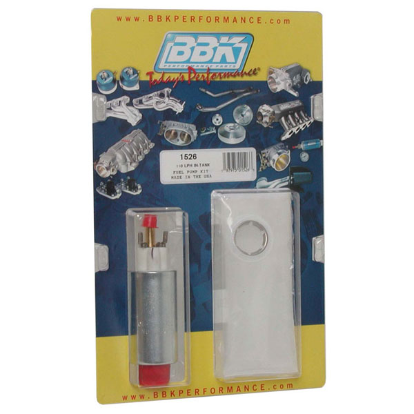 BBK 1526 |  Ford Mustang 110 Lph Intank Fuel Pump Kit V8; 1986-1997