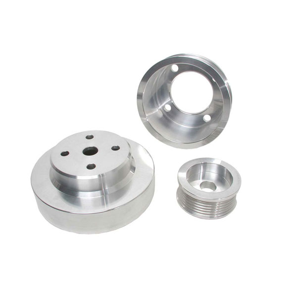 BBK 1553:  1979-93 Ford Mustang GT 3 Pc Underdrive Pulley Kit (Aluminum)