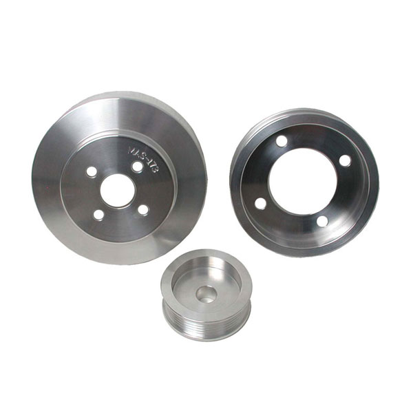 BBK 1554:  1994-95 Ford Mustang GT 3 Pc Underdrive Pulley Kit (Aluminum) V8