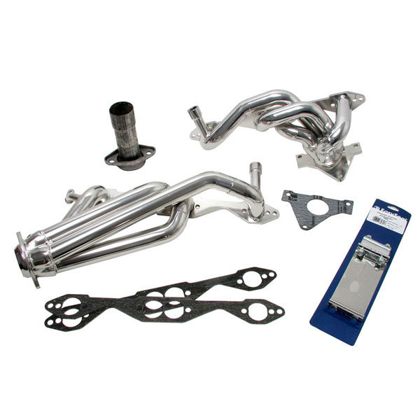 BBK 1568:  Shorty Headers 1995-97 LT1 1-5/8 Header System Dual Cat (Chrome) Camaro V8