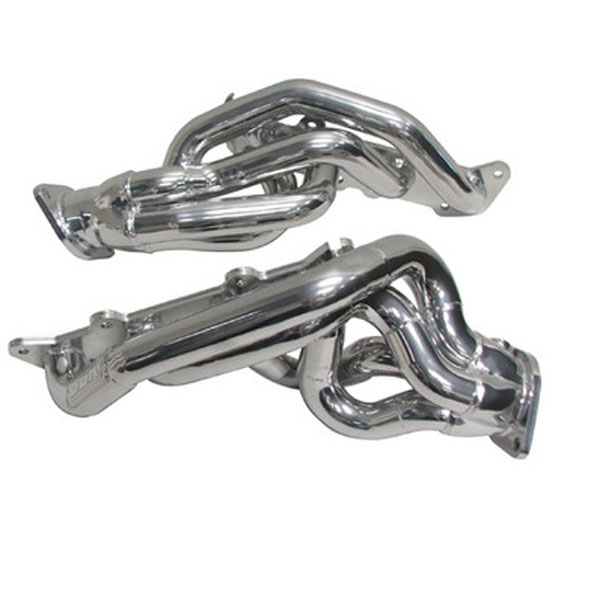 BBK 16320 |  Mustang GT 5.0 Short Length Headers Silver Ceramic Coating; 2011-2014