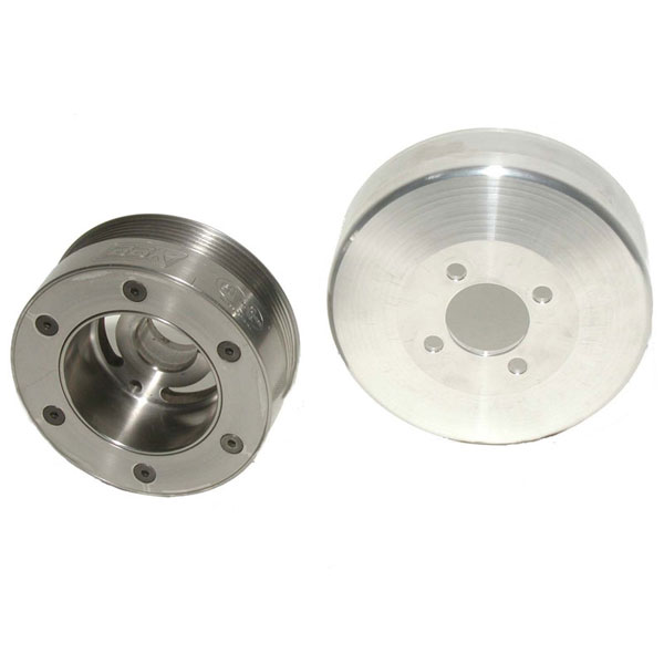 BBK 1653:  SFI Underdrive Pulley System for 2005-10 Mustang GT V8