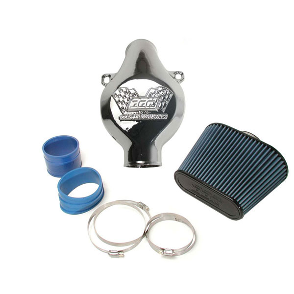 BBK 17260:  97-04 C-5 Corvette Cold Air Induction Intake System W/ Cast Aluminum Inlet (polished)