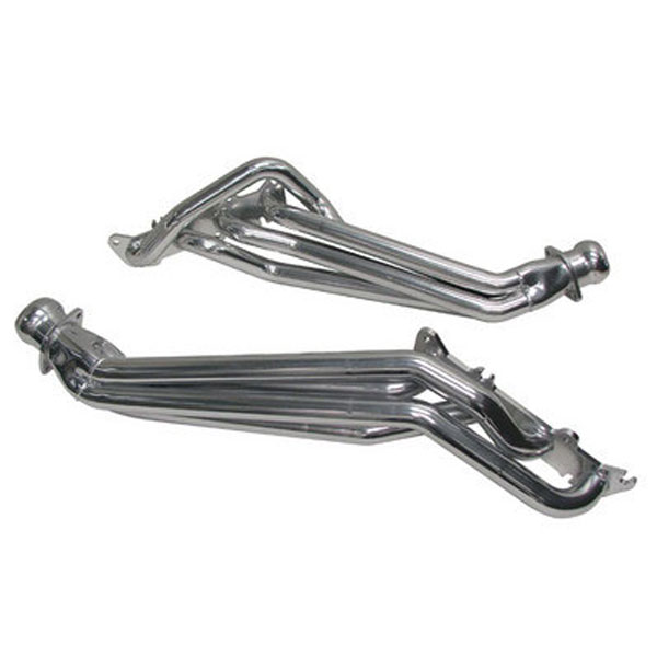 "BBK 18560 |  Mustang GT- 1-7/8"" - 5.0 Long Tube Headers - Polished Silver Ceramic; 2011-2014"
