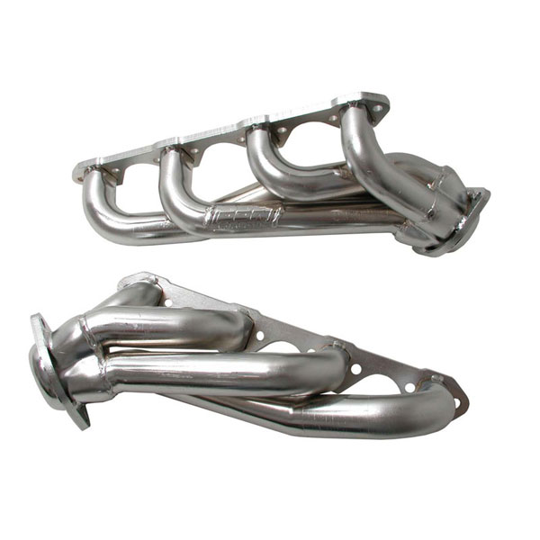 BBK 3511:  1987-95 Ford F-150 351 1-5/8 Exhaust Headers (Chrome)