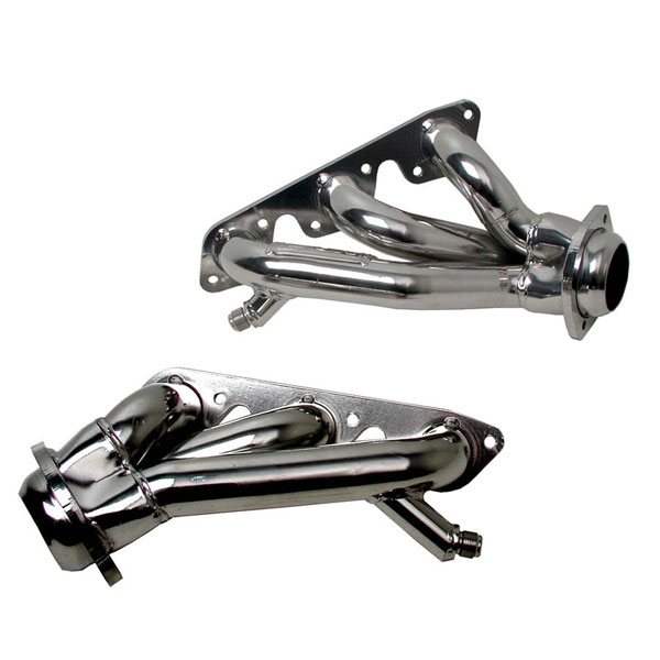 BBK 4008:  Shorty Headers 1 5/8 inch 1999-04 Mustang 3.8L V6 (chrome)