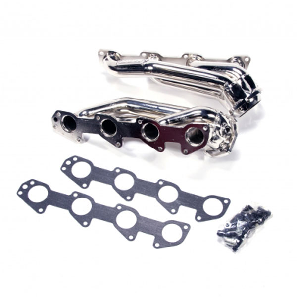 BBK 40130 |  Tuned Length Shorty Headers Chrysler 300C SRT8 (Polished Silver Ceramic); 2005-2010