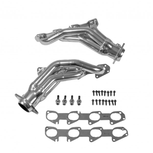 BBK 40190 | Tuned Length Shorty Headers Chrysler 300C SRT8 (Polished Silver Ceramic); 2011-2017