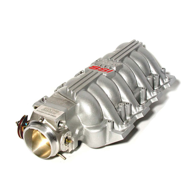 BBK 5005:  SSI Intake Manifold and 80mm Throttle Body LS1 fbody - silver Firebird V8