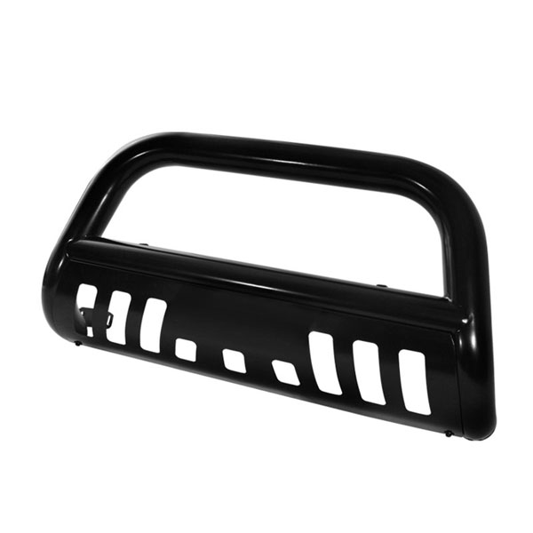 xTune BBR-CB-A02G0402-BK |  Chevrolet Trail Blazer / GMC Envoy - 3 Inch Bull Bar Powder Coated - Black; 2002-2007
