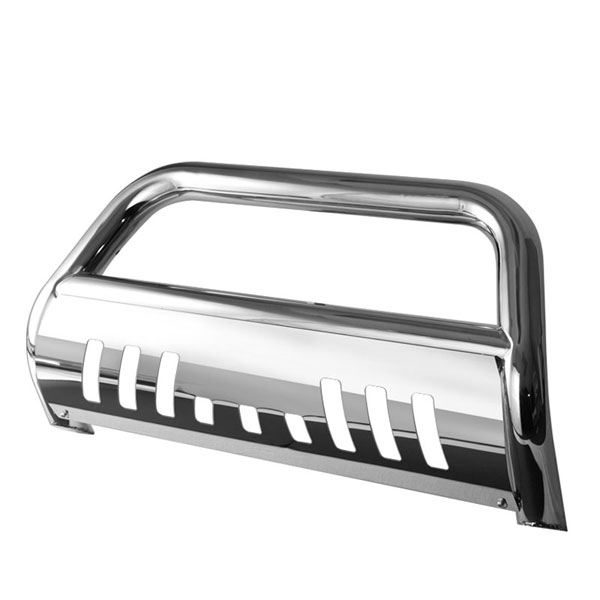 xTune (BBR-CB-A02G0402)  Chevrolet Trail Blazer 02-09 / GMC Envoy 02-07 - 3 Inch Bull Bar T-304 Stainless Steel - Polished