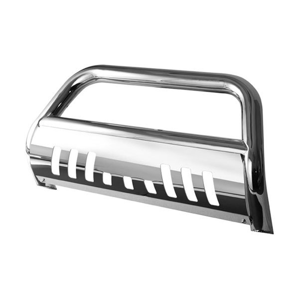 xTune BBR-CS-A02G0407:  Chevrolet Silverado 07-10 1500LD 3'' Stainless T-304 Bull Bar - Chrome