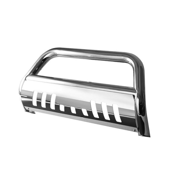 xTune BBR-FF-A02G0512:  Ford F250/350/450/550HD 08-10 / Superduty 08-10 3'' Stainless T-304 Bull Bar - Chrome