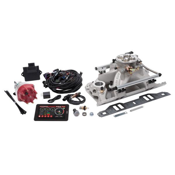 Edelbrock 35900   Pro-Flo 4 Fuel Injection Kit Seq Port SB Chrysler 318-360 CI 625 Max HP 35 LbHr Injectors