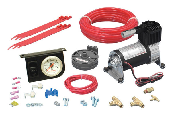 Firestone 2158 | Level Command II Standard Duty Single Analog Air Compressor System Kit (WR17602158)