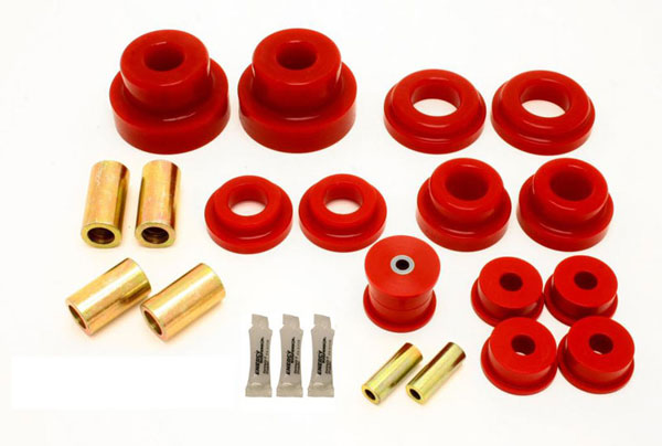 BMR Suspension (BK030) BMR Camaro 2010-15 Rear Cradle Bushing Kit Pro Version includes BK024 BK029