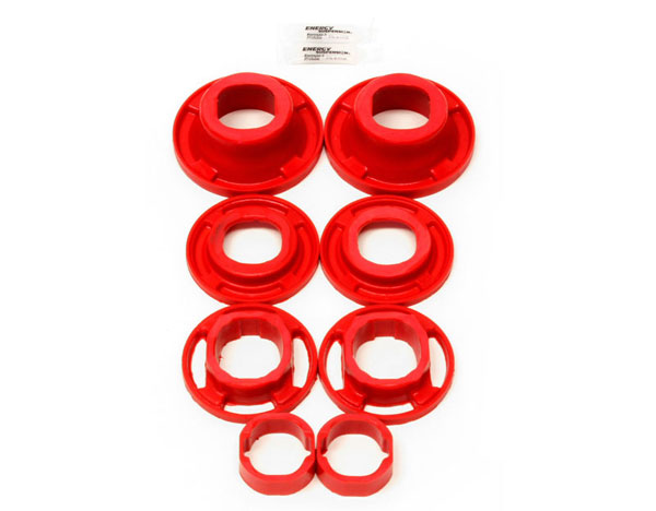 BMR Suspension BK040: BMR Camaro 2012-15 Bushing kit, rear cradle, poly, inserts only, street version