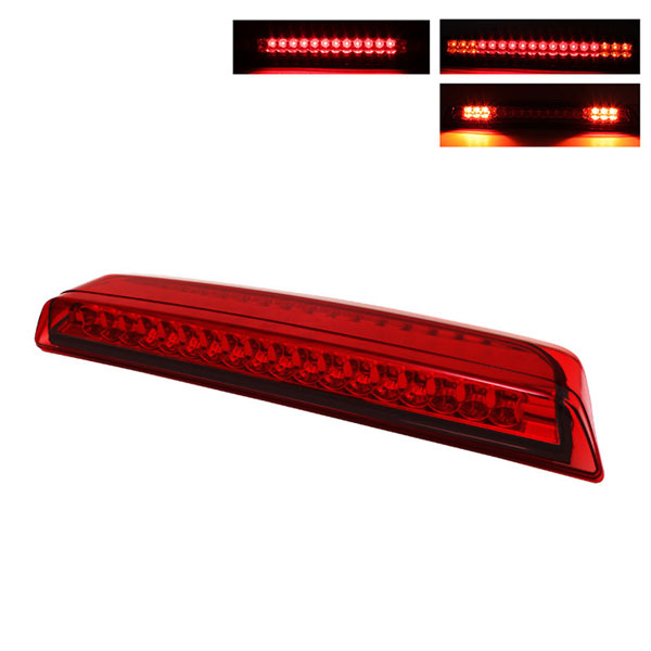 xTune BKL-NTIT04-LED-RD |  Nissan Titan Frontier LED 3RD Brake Light - Red; 2005-2012
