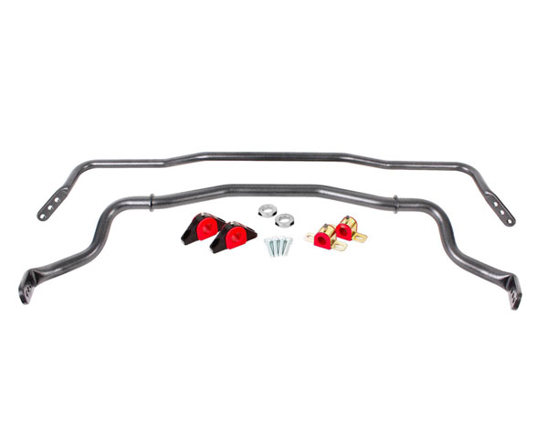 BMR Suspension SB043R | BMR Sway Bar Kit With Bushings GTO Red; 2004-2006