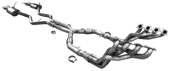 American Racing Headers BMWM3-07134300DFSWC:  BMW M3 2007-13 Longtube Headers 1 3/4 with X-pipe and Cats and w/o X-pipe Resonators and Axle Back System